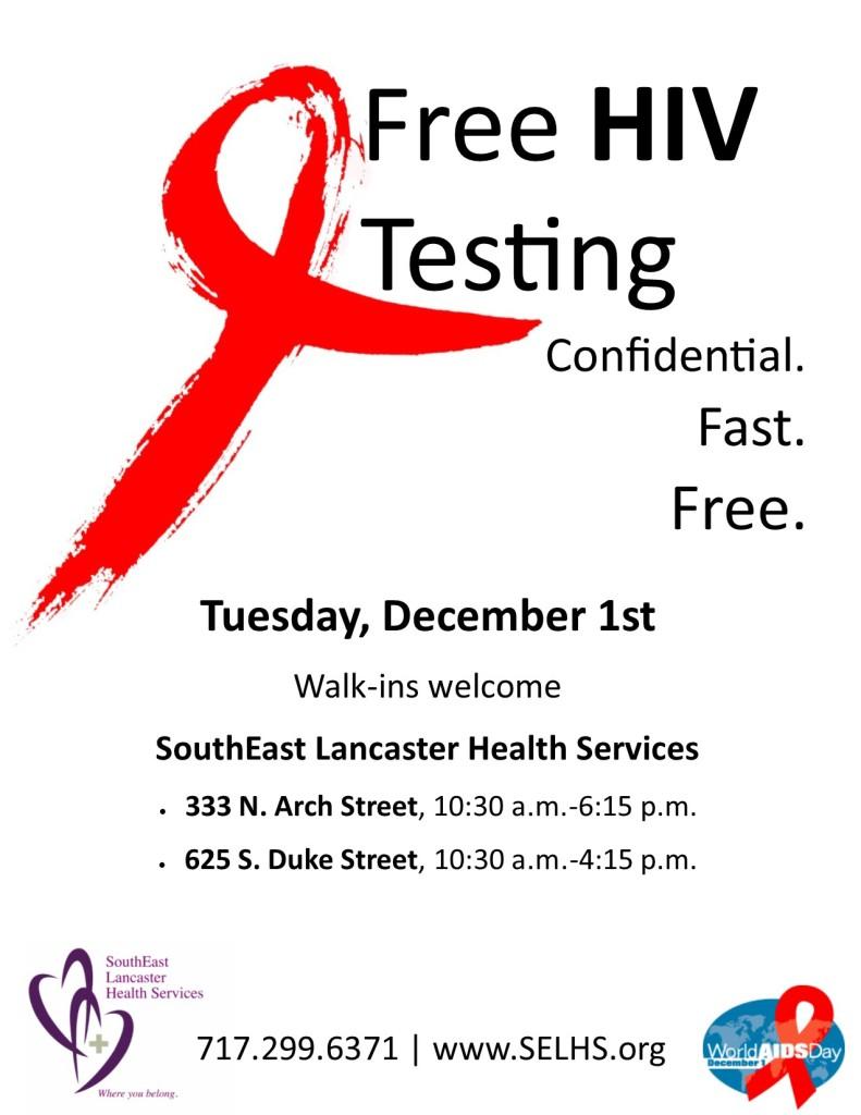 World Aids Day Flier